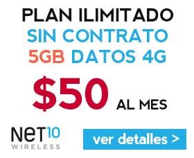 net10 precio analisis review compania de celulares sin contrato