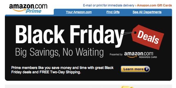Mejores tiendas viernes negro: Amazon
