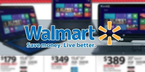 Ofertas de laptops en Black Friday Walmart