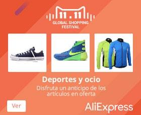 Qué está en oferta el 11 de noviembre AliExpress Productos deportivos