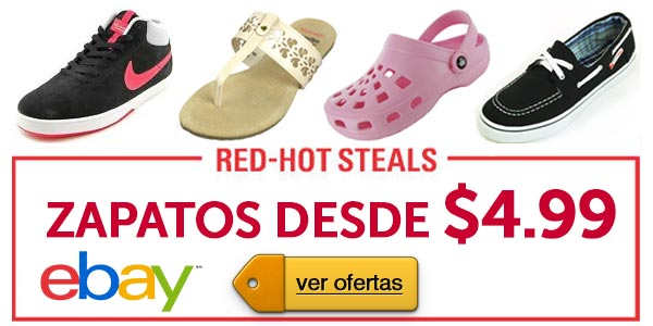 Rebajas eBay lunes cibernetico Zapatos cyber monday
