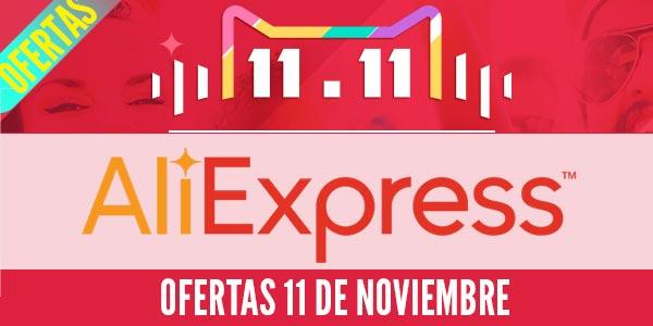 aliexpres ofertas 11 de novembre 11.11
