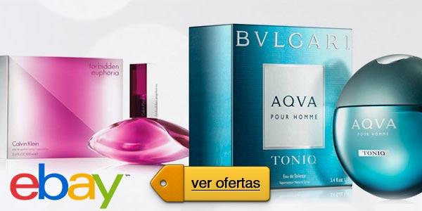 eBay lunes cibernético: Perfumes