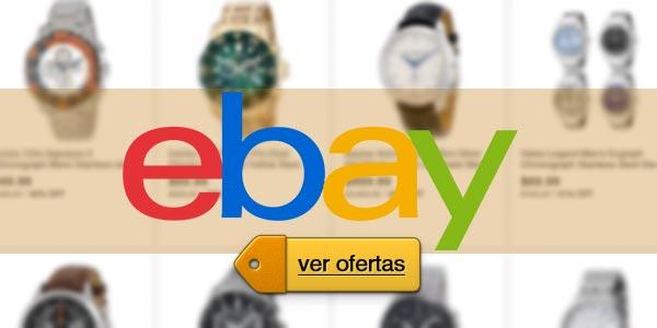 eBay lunes cibernético: Relojes