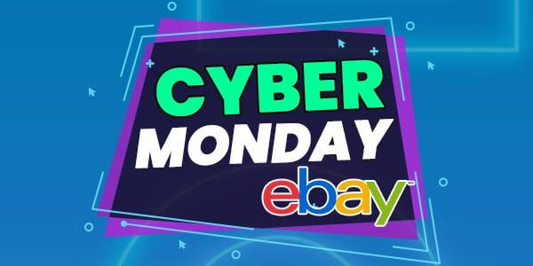 ebay cyber monday ofertas lunes cibernetico
