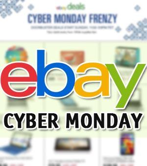 ebay lunes cibernetico ofertas cyber monday