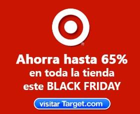 tiendas viernes negro ofertas target
