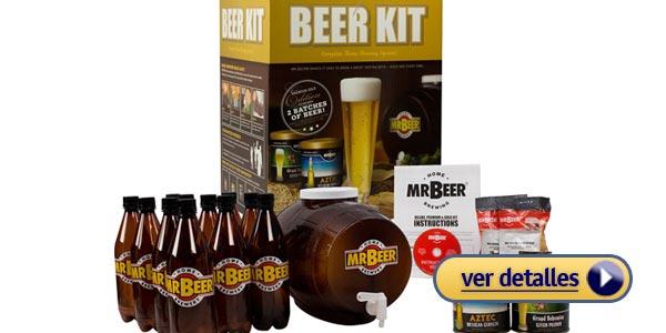 Mejores regalos de navidad para hombres 2015: Kit de cerveza casera