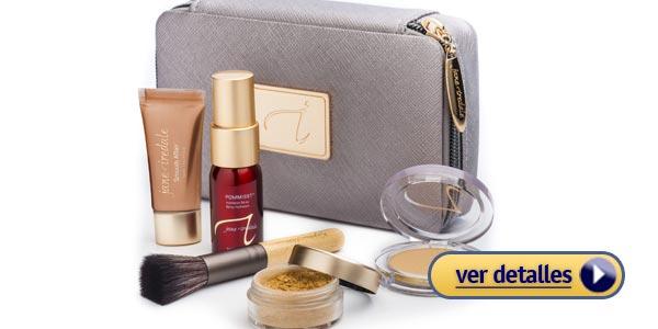 Regalos baratos de navidad para mujeres 2015: Kit de maquillaje Jane Iredale