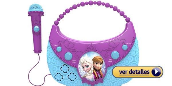 Regalos de navidad para niñas: Karaoke Frozen de Disney