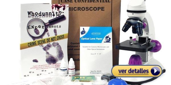 Regalos de navidad para niñas: Kit de Microscopio Forense