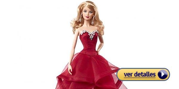 Regalos de navidad para niñas: Muñeca Barbie Navideña Coleccionable