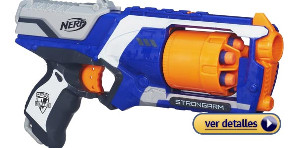 Regalos de navidad para niños: Pistola de dardos Nerf