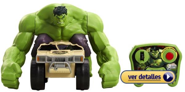 regalos de navidad para nios vehculo a control remoto de hulk