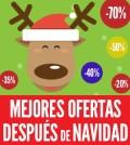 ofertas después de navidad
