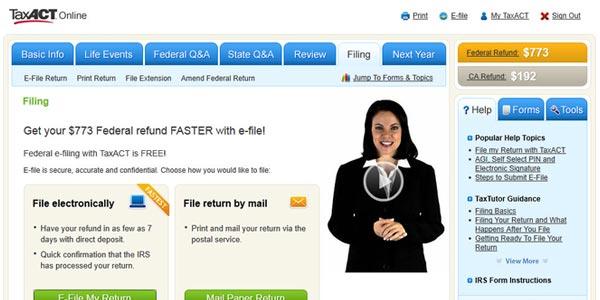 Formas baratas de hacer los taxes: E-File