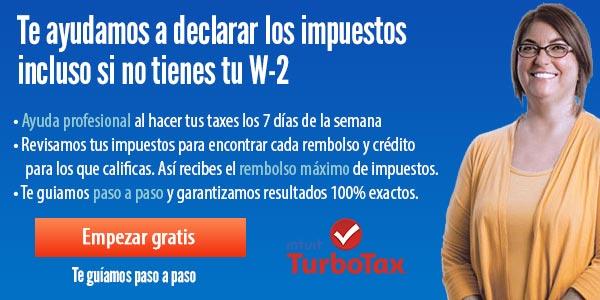 La mejor forma de declarar los taxes sin W-2