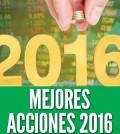Mejores acciones 2016