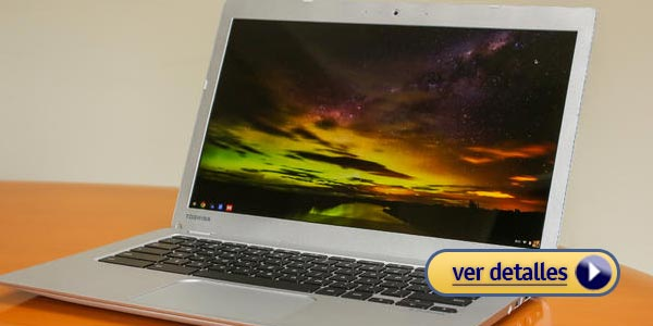 Mejores laptops baratas para la oficina: Toshiba Chromebook 2
