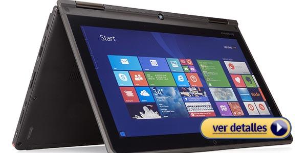 Mejores laptops para la oficina: Lenovo ThinkPad Yoga 12