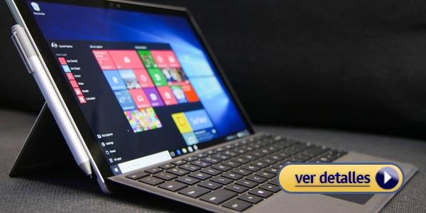 Mejores portátiles para la oficina: Microsoft Surface Pro 4