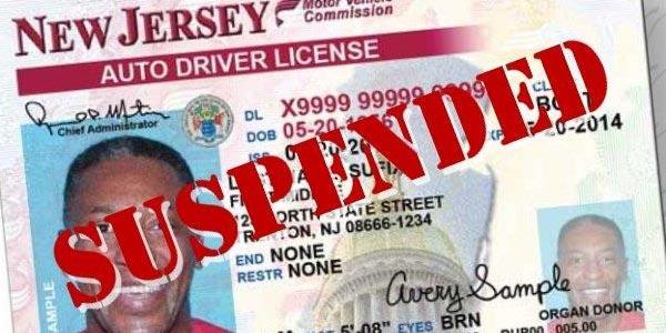 Qué hacer si tu licencia es suspendida