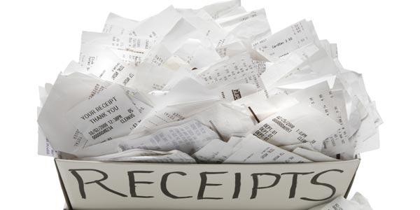 Paso 2 - Hacer los taxes tú mismo: Reúne tus recibos