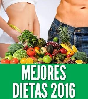 mejores dietas 2016 perder peso adelgazar comer saludable