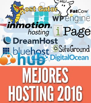 mejores hosting 2016 alojamiento web