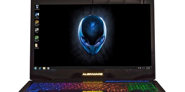 Alienware 17 análisis: Diseño