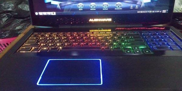 Alienware 17 análisis: Teclado y el touchpad