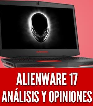Alienware 17 analisis opiniones