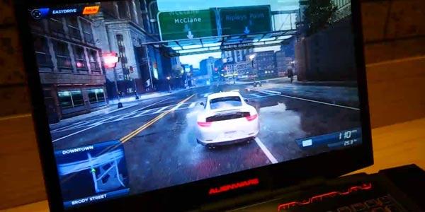 Alienware 17 review en español: Monitor