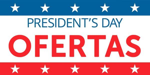 ofertas presidents day