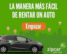 Daños cubiertos por la agencia Zipcar