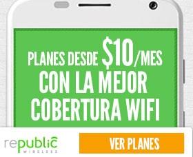 Planes de celulares baratos con Wi-Fi: Republic Wireless