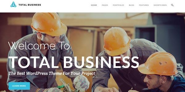 Plantillas WordPress para negocios: Total Business