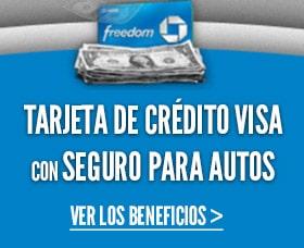 Seguro al rentar un auto: Tarjetas Visa