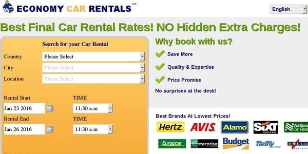 Seguro de alquiler de autos: Economy Car Rentals