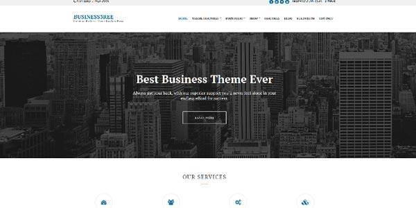 Temas WordPress para negocios: Business3ree