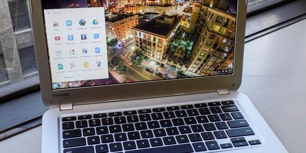 Toshiba Chromebook 2: Chrome OS