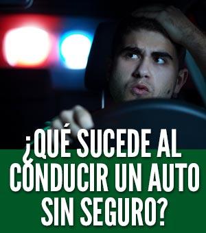 conducir sin seguro de auto