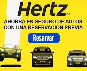 seguro de autos hertz alquiler