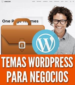 temas WordPress para negocios oficinas empresas