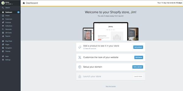 Construir una tienda Shopify: Elige un tema o diseño