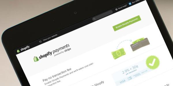 Construir una tienda Shopify: plataformas de pago