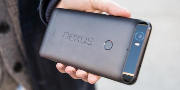 Google Nexus 6P: Lector de huellas dactilares