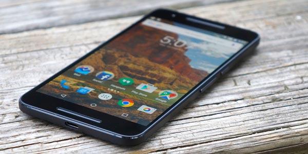Google nexus 6p con android 6.0