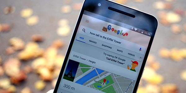 Google Nexus 6P review en español: Google Now