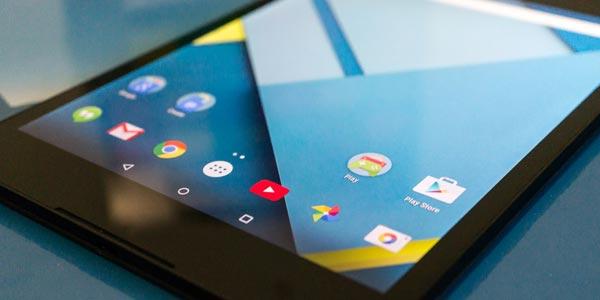 Google Nexus 9 análisis: Sistema operativo Android
